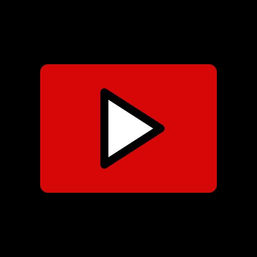 Icons Logo Media Play Player Video Youtube Icon Icon Youtube Iphone Organization