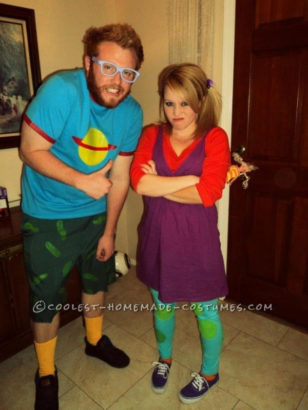 Homemade Rugrats Group Costume | Rugrats, Costumes and Halloween ...