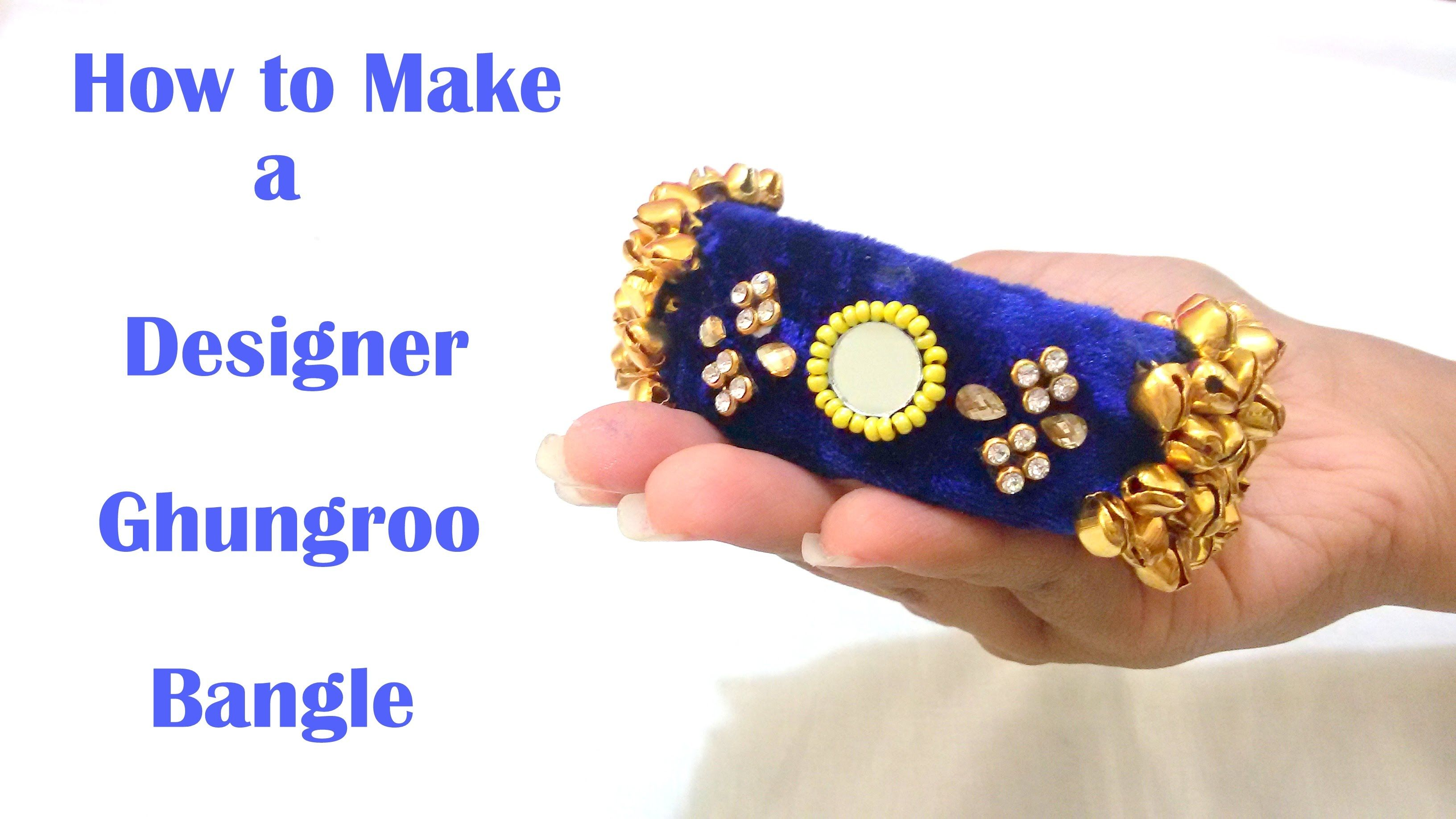 How to make Designer Ghungroo Bangles at Home | Tutorial ...