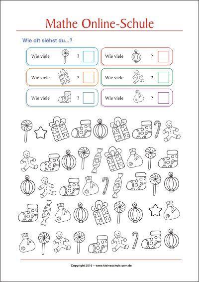 Zahlen bis 10 lernen - Kostenlose Mathe Arbeitsblätter | Kostenlose ...