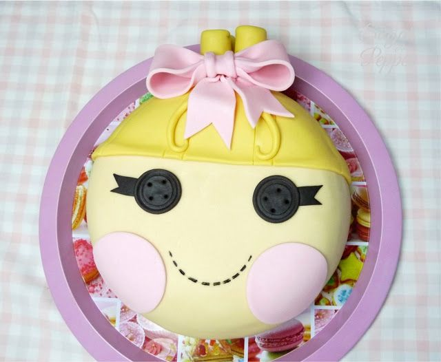 Estrade's cakes: tarta Lalaloopsy Cinderella