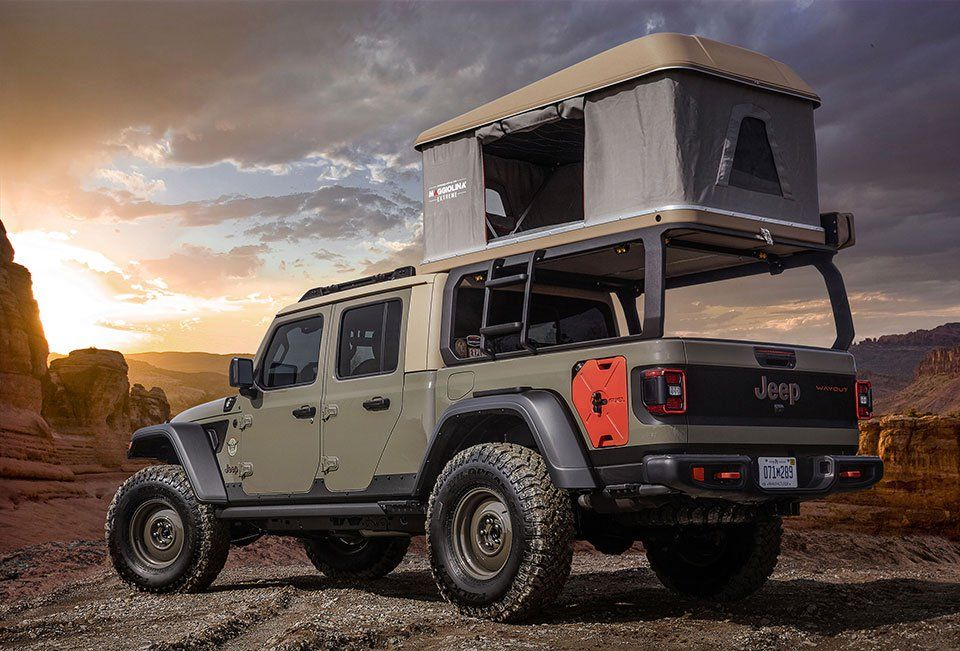 2019 Jeep Mopar Concepts (With images) Jeep gladiator