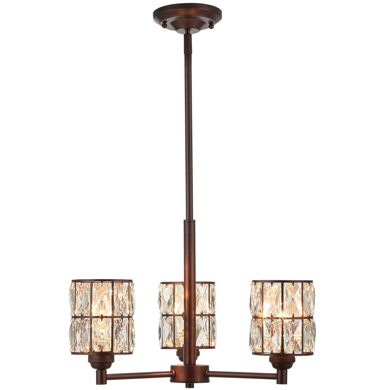 Doraimi 3 5 Light Crystal Chandelier Lighting Traditional Ceiling
