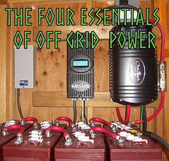 Four Essentials Of Off Grid Solar Électricité, Panneau