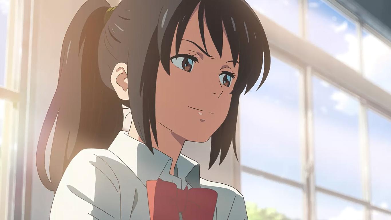 Mitsuha Miyamizu Kimi no na wa, Anime films, Your name anime