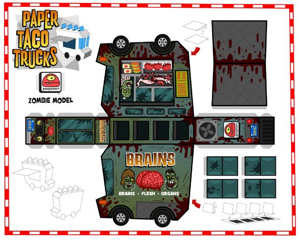 Blog_Paper_Toy_papertoys_Paper_Taco_Trucks_Zombie_template_preview