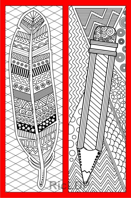 Set Of 8 Coloring Bookmarks For Daddy Father S Day Coloring