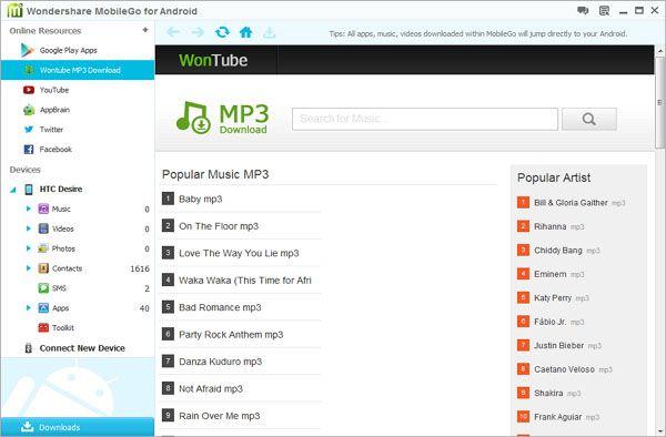 Samsung Music Downloads