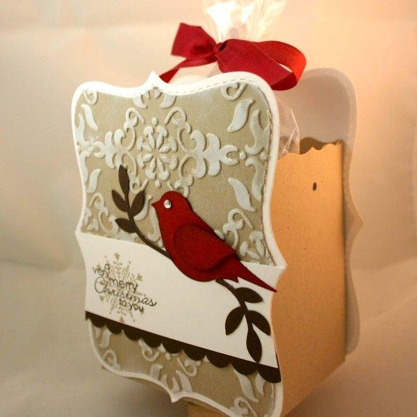 Stampin' Up!  Top Note Box  Dana Newsom  Christmas