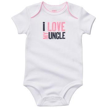 91d1fb898 I love my uncle onesie  6.00  carter s