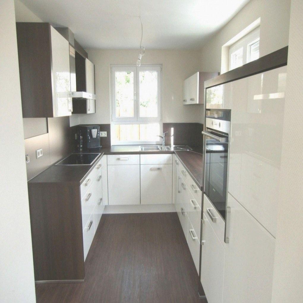 Küche Weiß Hochglanz Arbeitsplatte Holz Schön 42