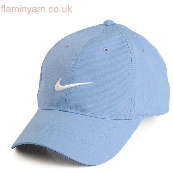 25526352c3610 Authentic Nike Golf Hats Tech Swoosh Baseball Cap Light Blue ...