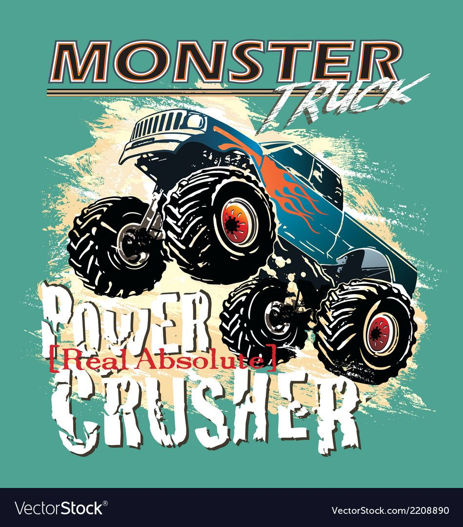 37++ Monster truck clipart free download info