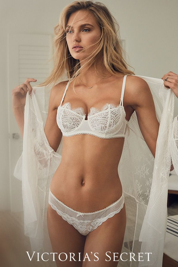 "c348ace5e Only works from Victoria s Secret allowed here. Not just for brides   everyone can say ""I do"" to white lingerie."
