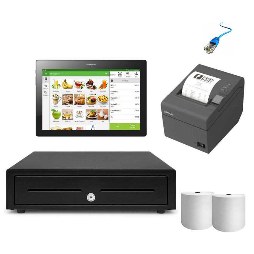 Loyverse POS Hardware with Android Tablet Bundle 4