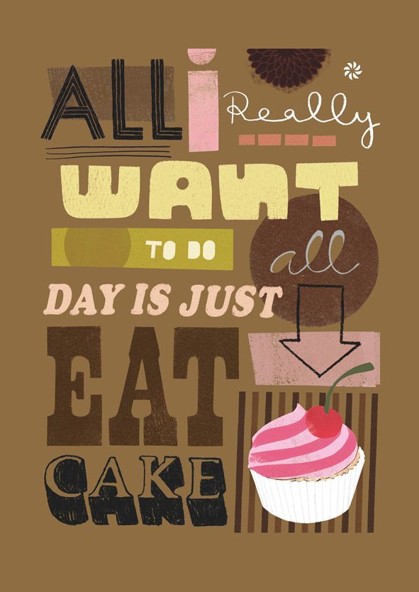 'All I Really Want' print by Jessie Ford