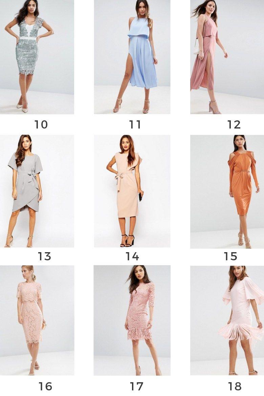 Vestidos de Invitada Perfecta Bautizo y Comunión 2017