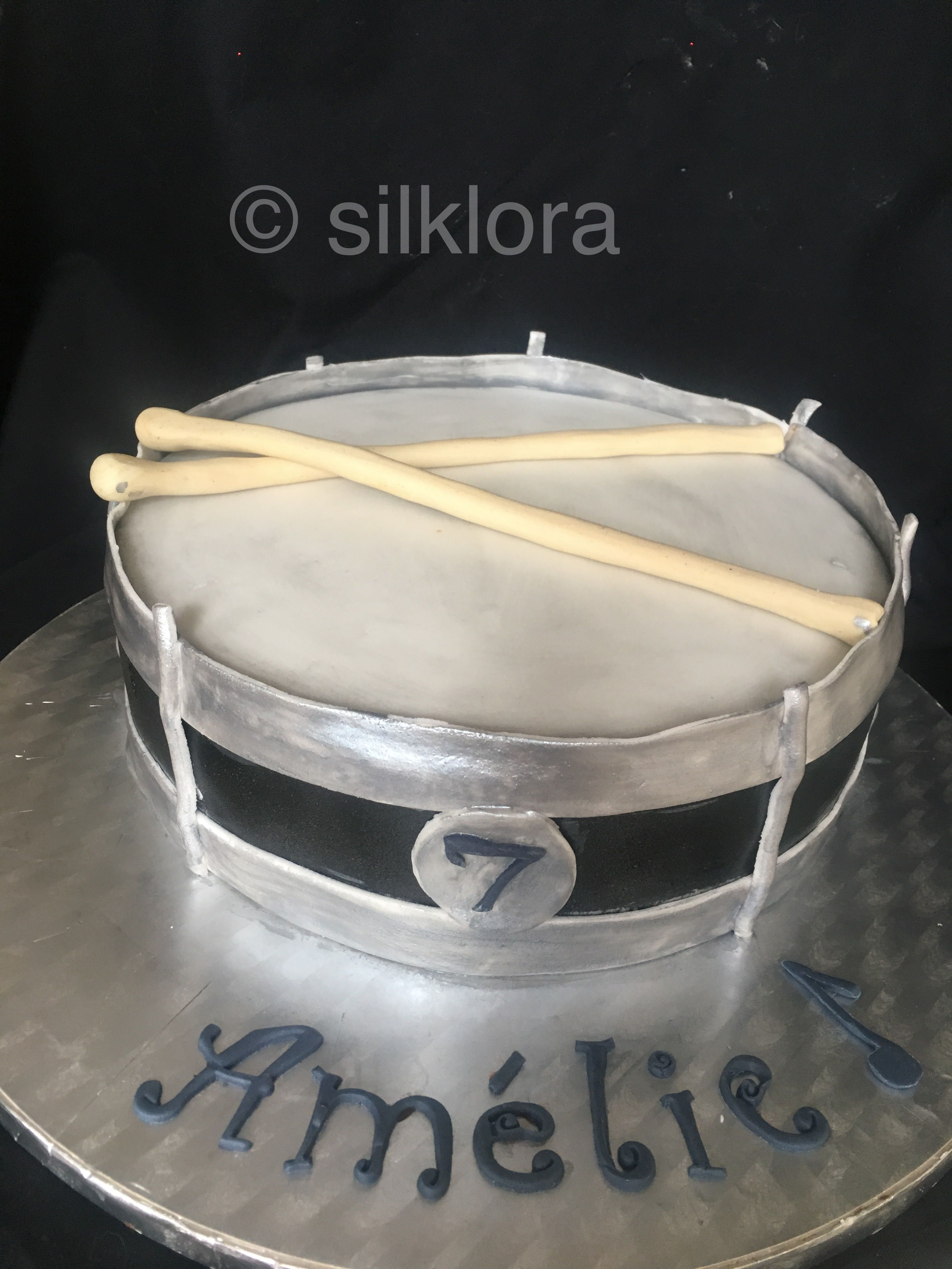 Trommel Torte Drums Cake Trommel Kindergeburtstag Torten Dekorieren