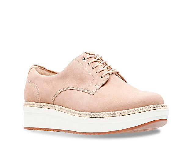 05abfcbe Women Teadale Rhea Wedge Oxford -Light Pink | Products | Shoes, Shoe ...