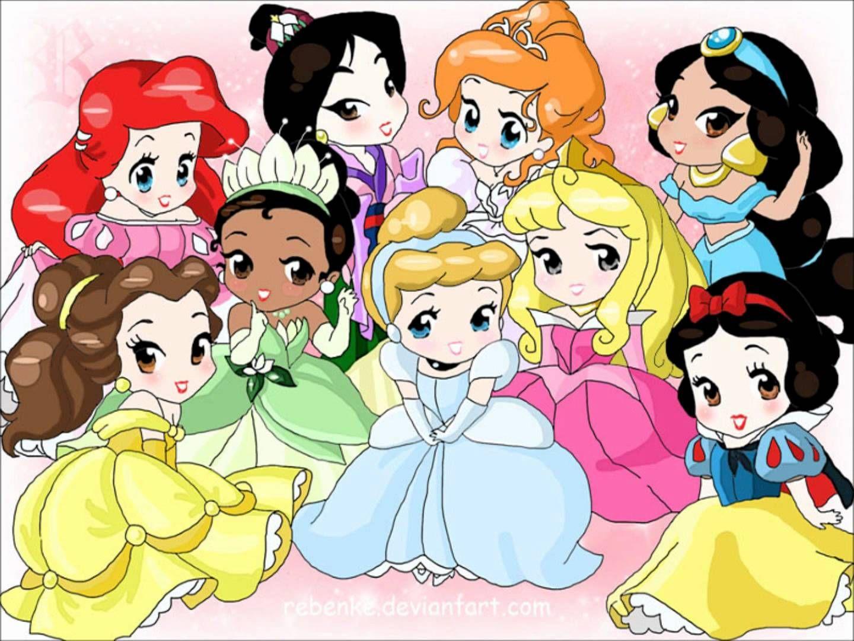 Disney Princess Google Search Disney Princess Background Chibi Disney Baby Disney