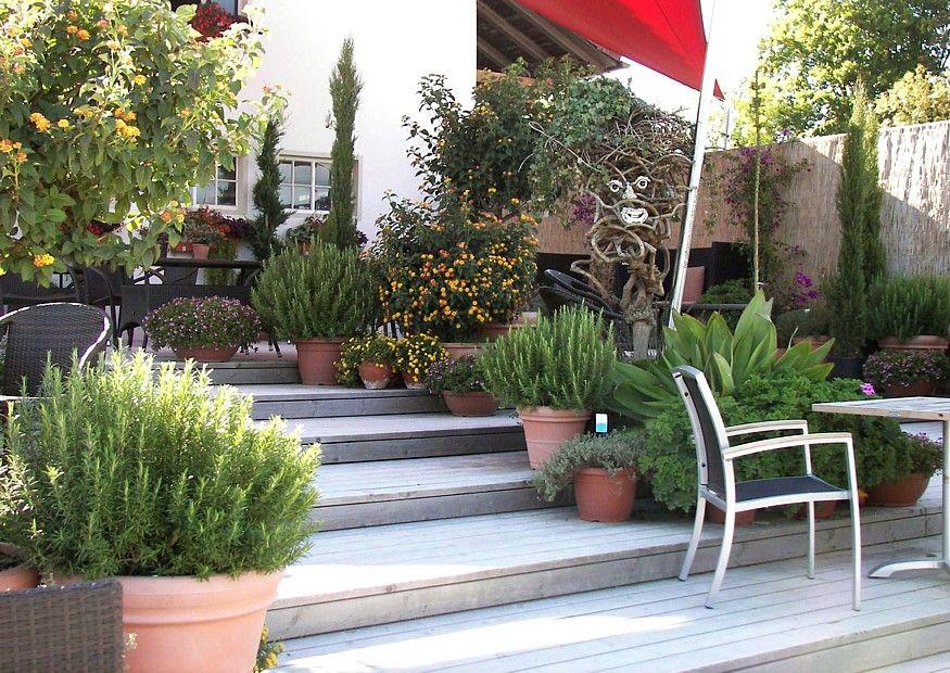 Terrassenbau am Hang Terrassenbau, Terrasse bauen und Gartenentwürfe - gartengestaltung terrasse hang