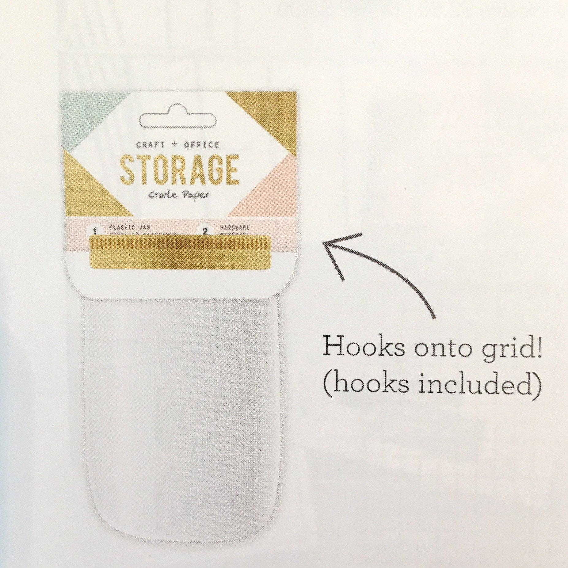 Wire Storage Unit - plastic jar