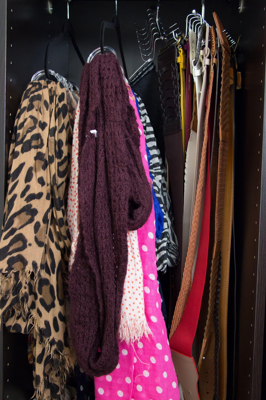 Scarfs! My Closet Tour on Makeup Geek