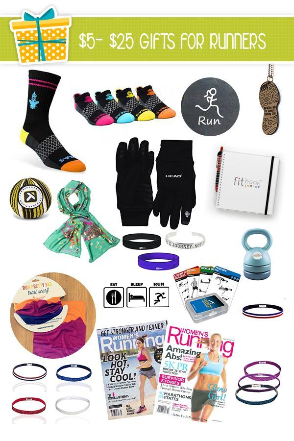 Presents For Runners Under 25 Perfect Gift Exchange Ideas Runtothefinish Gifts For Runners Favorite Things Gift Running Gifts