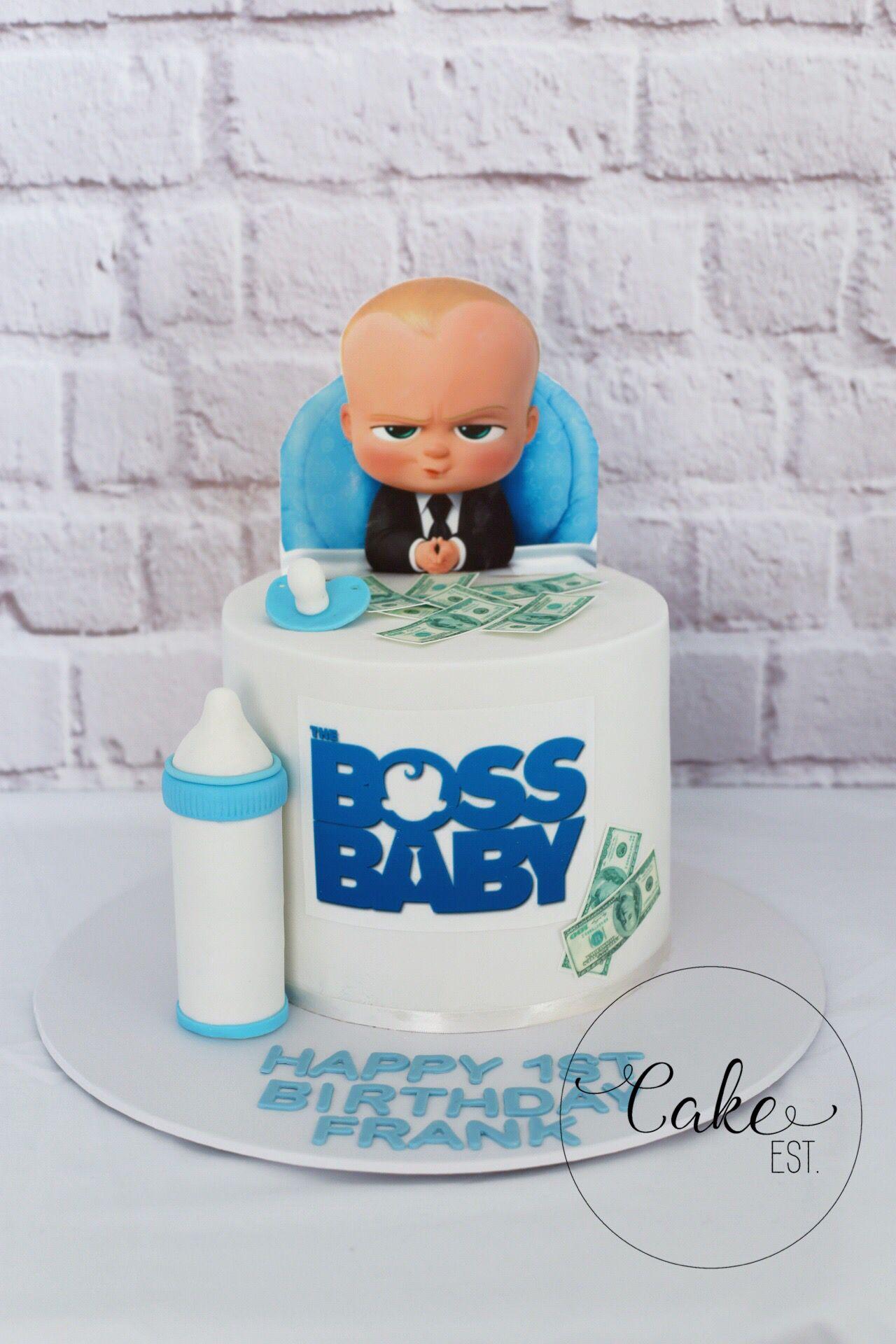 Pin By Slatki San On Torte With Images Baby Boy Birthday Cake