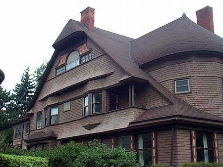 Find this Pin and more on Then  World Architecture Images  Shingle Style  H H  Richardson shingled wall flairs galore    Then   Pinterest  . Shingle Style Architecture History. Home Design Ideas