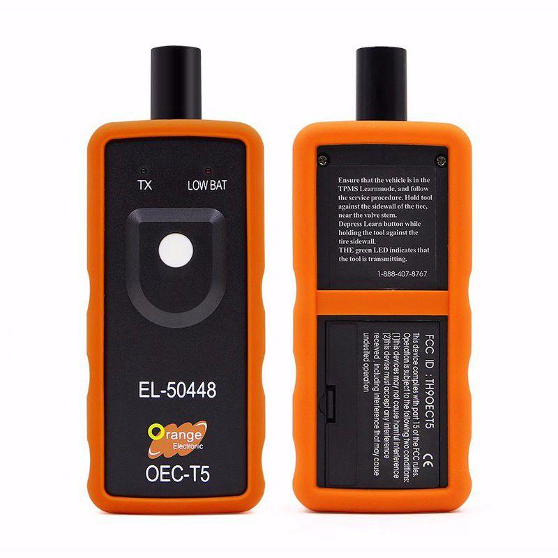 El50448 auto car tire pressure monitor sensor tpms reset