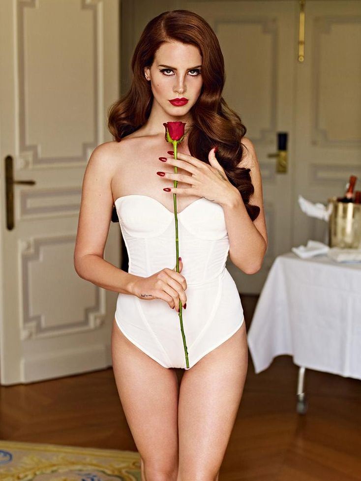 "Lana Del Rey by Mariano Vivanco for British GQ October 2012 - ""Woman of the Year"""