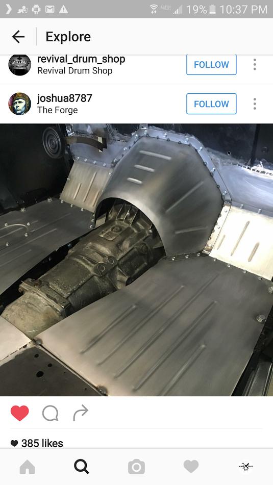Amazing Custom Fabricated Floor And Trans Tunnel Custom Metal Fabrication Custom Car Interior Sheet Metal Work