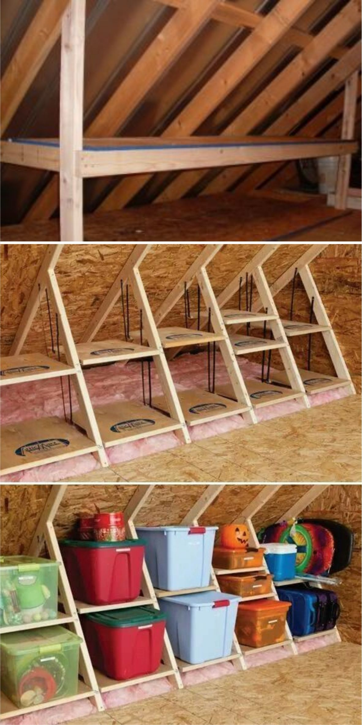 51+ The Best Attic Storage Solutions