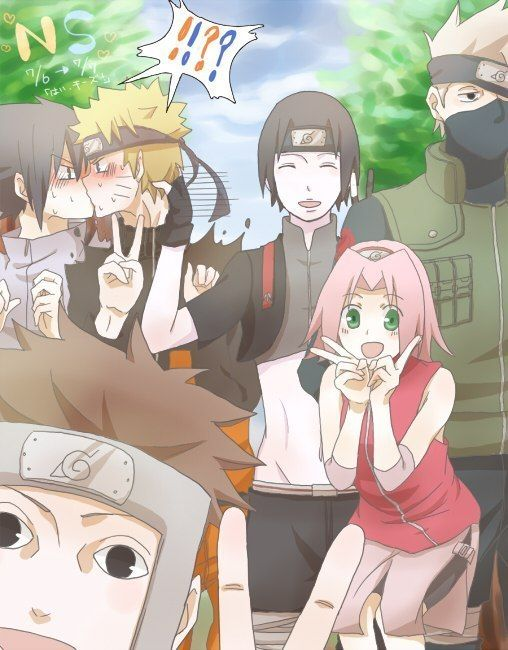 Photo of Team 7: past and present
