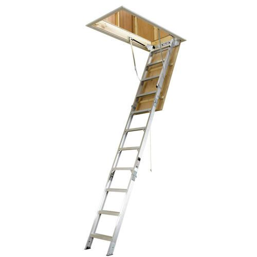 12 Aluminum Attic Ladder Attic Ladder Garage Attic Attic Stairs