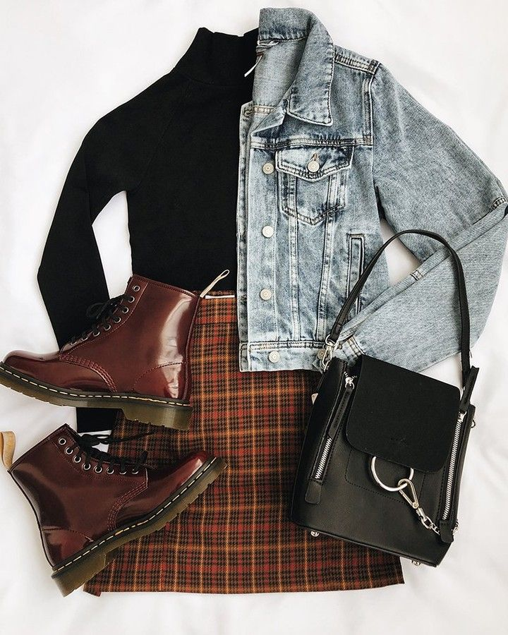 """Lulus.com on Instagram: """"give your outfit the (chunky) boot with our tips for styling with combat boots ! head to the blog for more ♥️ #lovelulus link in bio!"""" 1"""