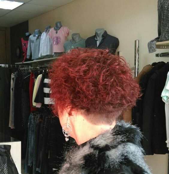 Cut, colored, permed wedge | Perm | Short bob hairstyles ...