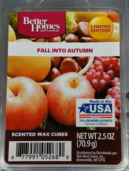 Better Homes And Gardens Fall Leaves Wax Melts