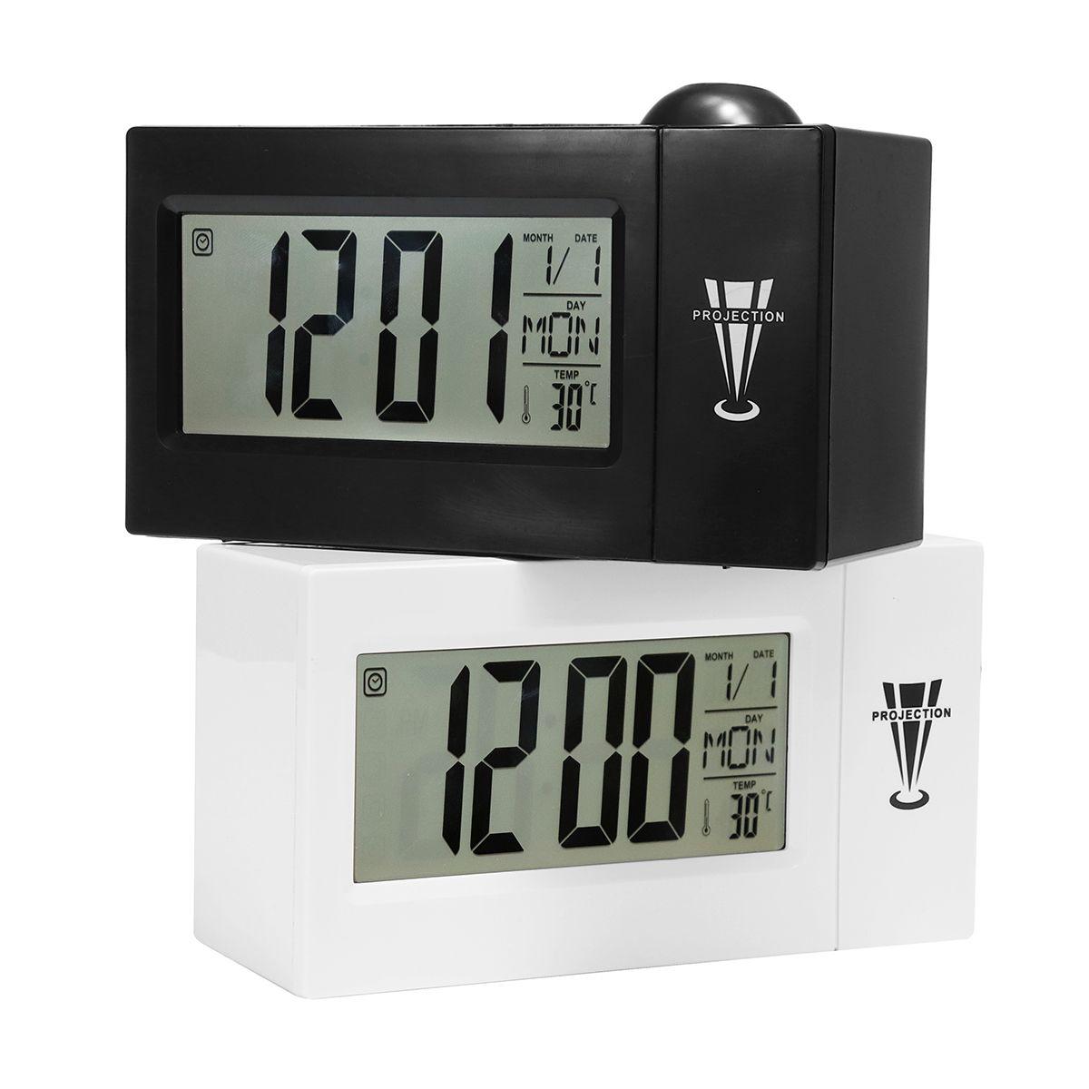 Snooze Alarm Clock Backlight Wall Projector Projection