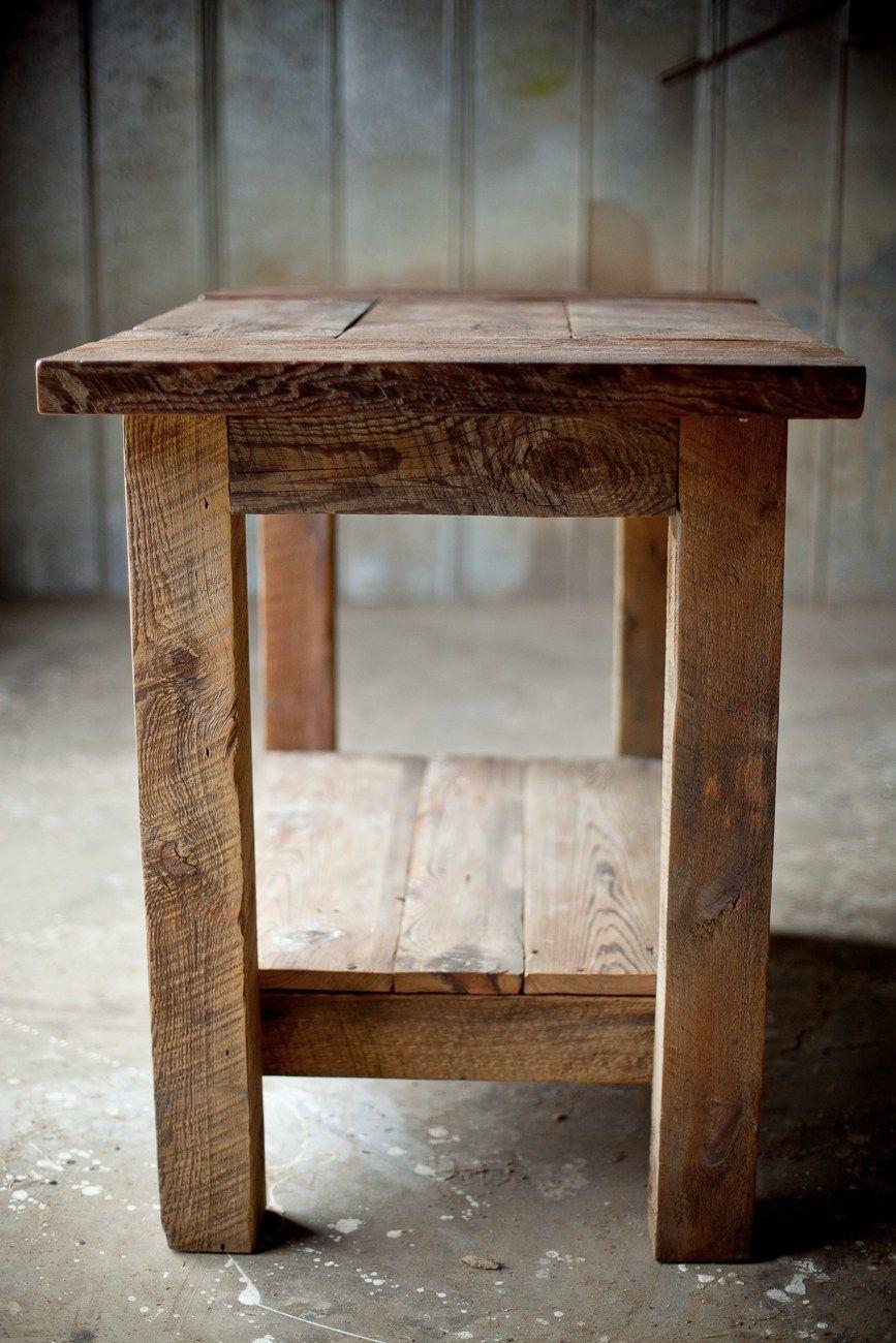 baf382f3c95b reclaimed wood kitchen island rustic sons sawdust wood working ana white  kitchen island reclaimed wood diy projects