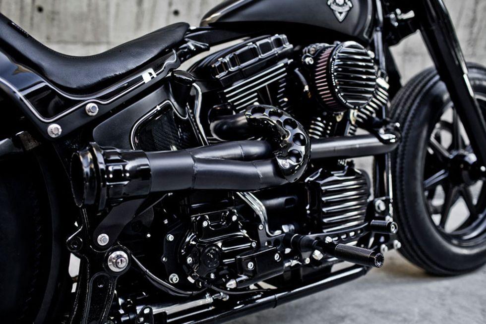 Rough Crafts x Roland Sands Design Shadow Rocket Motorcycle