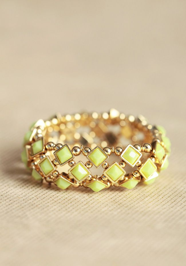 bardot jeweled bracelet