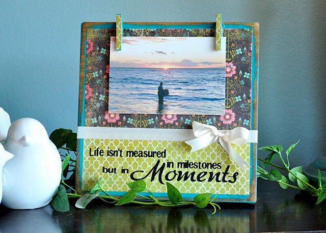 photo frames- so easy and the photo just clips on so it is easy to ...