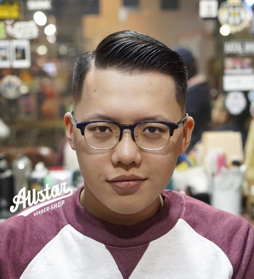 Faded Quiff hairstyles for Chinese man   Hairstyles haircuts, Asian haircut, Slick hairstyles