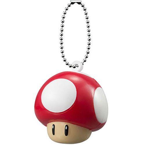 Super Mario 3D World Soft Squeeze Keychain 2 Blooper