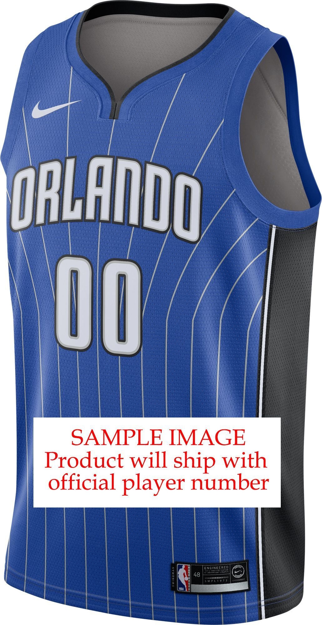 0de3a2d2967 Mohamed Bamba - Nike Men s Orlando Magic Royal Dri-FIT Swingman Jersey