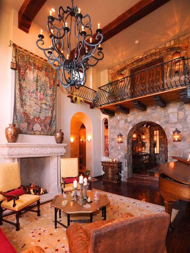 Spanish Style Decorating Ideas Spanish Style Decor Spanish Style Homes Spanish Style Interiors #spanish #living #room #decor