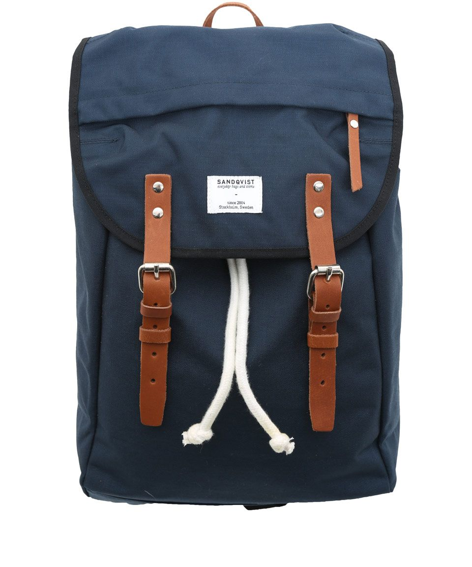 851827750 Sandqvist Navy Hans Hiking Backpack | Men's Bags by Sandqvist |  Liberty.co.uk