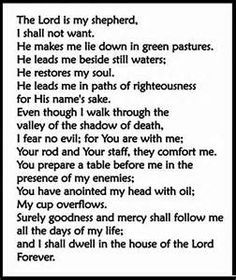 photo relating to Printable 23rd Psalm identified as printable 23 psalm - Bing illustrations or photos 23rd Psalm Psalms